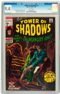 Silver Age (1956-1969):Horror, Tower of Shadows #2 Twin Cities pedigree (Marvel, 1969) CGC NM 9.4White pages....