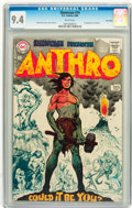 Silver Age (1956-1969):Adventure, Showcase #74 Anthro - Twin Cities pedigree (DC, 1968) CGC NM 9.4 White pages....