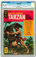 Silver Age (1956-1969):Adventure, Tarzan #178 Twin Cities pedigree (Gold Key, 1968) CGC NM/MT 9.8 White pages....
