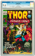 Bronze Age (1970-1979):Superhero, Thor #187 Twin Cities pedigree (Marvel, 1971) CGC NM+ 9.6 White pages....