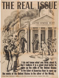 Political:Posters & Broadsides (1896-present), McKinley & Bryan: A Mammoth 1896 Campaign Poster....