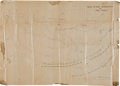 Military & Patriotic:Civil War, [Civil War] Map Showing the Proposed Plan for the Bombardment of Fort Fisher....