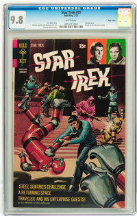 Star Trek #13 Twin Cities pedigree (Gold Key, 1972) CGC NM/MT 9.8 White pages