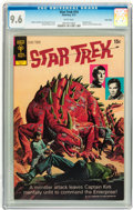 Bronze Age (1970-1979):Science Fiction, Star Trek #14 Twin Cities pedigree (Gold Key, 1972) CGC NM+ 9.6 White pages....