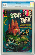 Bronze Age (1970-1979):Science Fiction, Star Trek #15 Twin Cities pedigree (Gold Key, 1972) CGC NM/MT 9.8 White pages....