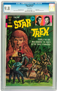 Star Trek #17 Twin Cities pedigree (Gold Key, 1973) CGC NM/MT 9.8 White pages