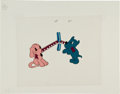 Animation Art:Limited Edition Cel, Two Dogs Production Cel Animation Art (undated)....