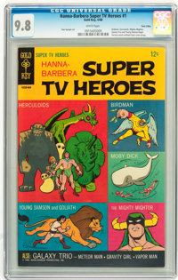 Hanna-Barbera Super TV Heroes #1 Twin Cities pedigree (Gold Key, 1968) CGC NM/MT 9.8 White pages