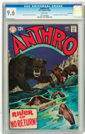 Silver Age (1956-1969):Adventure, Anthro #5 Twin Cities pedigree (DC, 1969) CGC NM+ 9.6 White pages....