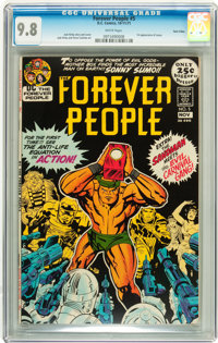 The Forever People #5 Twin Cities pedigree (DC, 1971) CGC NM/MT 9.8 White pages