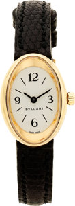 Estate Jewelry:Watches, Bvlgari Lady's Gold Wristwatch, modern. ...