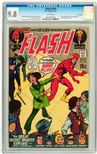 The Flash #204 Twin Cities pedigree (DC, 1971) CGC NM/MT 9.8 White pages