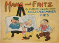 Platinum Age (1897-1937):Miscellaneous, Hans und Fritz #193 Pages Missing (Saalfield Publishing Co., 1929)Condition: Poor....