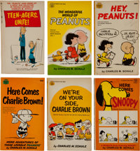 Charles Schulz Paperback Group (1960s) Condition: Average FN.... (Total: 6 Items)