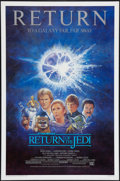 "Movie Posters:Science Fiction, Return of the Jedi (20th Century Fox, R-1985). One Sheet (27"" X 41""). Science Fiction.. ..."