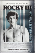 "Movie Posters:Sports, Rocky III and Other Lot (United Artists, 1982). One Sheets (2) (26"" X 40"", and 27"" X 41"") Advance Styles, Mylar and Regular ... (Total: 2 Items)"