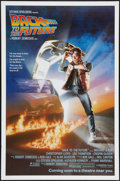 "Movie Posters:Science Fiction, Back to the Future (Universal, 1985). One Sheet (27"" X 41"")Advance. Science Fiction.. ..."