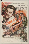 "Movie Posters:Adventure, Cuban Rebel Girls (Joseph Brenner Associates, 1959). One Sheet (27"" X 41""). Adventure.. ..."