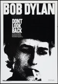 """Movie Posters:Documentary, Don't Look Back (Artistic License, R-1998). One Sheet (27"""" X 39.5""""). Documentary.. ..."""