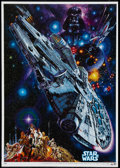 "Movie Posters:Science Fiction, Star Wars (20th Century Fox, R-1982). Japanese B2 (20.25"" X 28.5"").Science Fiction.. ..."