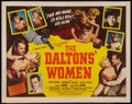 """Movie Posters:Western, The Daltons' Women (Western Adventures Pictures, 1950). Half Sheet (22"""" X 28""""). Western.. ..."""