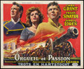 "Movie Posters:Adventure, The Pride and the Passion (United Artists, 1957). Belgian (14"" X22""). Adventure.. ..."