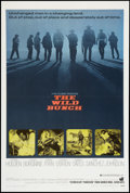 "Movie Posters:Western, The Wild Bunch (Warner Brothers, 1969). One Sheet (27"" X 41"").Western.. ..."