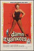 """Movie Posters:Musical, Damn Yankees! (Warner Brothers, 1958). One Sheet (27"""" X 41""""). Musical.. ..."""
