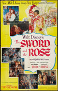 "Movie Posters:Adventure, The Sword and the Rose (RKO, 1953). One Sheet (27"" X 41"").Adventure.. ..."