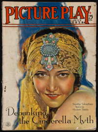 """Picture Play (Street & Smith, July, 1928). Magazine (Multiple Pages, 8.5"""" X 11.5""""). Miscellaneous"""