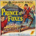 "Movie Posters:Adventure, Prince of Foxes (20th Century Fox, 1949). Six Sheet (78"" X 82"").Adventure.. ..."