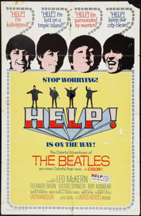 "Help! (United Artists, 1965). One Sheet (27"" X 41""). Rock and Roll"