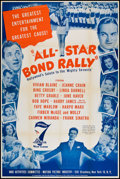 "Movie Posters:War, All-Star Bond Rally (War Activities Committee, 1945). 7th War LoanPoster (40"" X 60""). War.. ..."