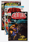 Bronze Age (1970-1979):Horror, Creatures On the Loose/Amazing Adventures Group - Twin Citiespedigree (Marvel, 1970s) Condition: Average VF+.... (Total: 23Comic Books)