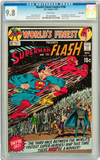 World's Finest Comics #198 Twin Cities pedigree (DC, 1970) CGC NM/MT 9.8 White pages
