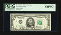 Small Size:Federal Reserve Notes, Fr. 1971-B* $5 1969B Federal Reserve Star Note. PCGS Very Choice New 64PPQ.. ...