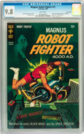 Silver Age (1956-1969):Science Fiction, Magnus Robot Fighter #21 Twin Cities pedigree (Gold Key, 1968) CGCNM/MT 9.8 White pages....
