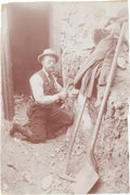 Western Expansion:Goldrush, [California Gold Mining] Randsburg Town Constable (Saloon Owner)Mining 1897....