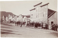 Western Expansion:Goldrush, [California Gold Mining] Stage Lines, Saloons and Construction,Rand Street 1897....