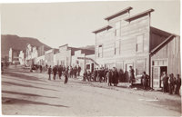 [California Gold Mining] Stage Lines, Saloons and Construction, Rand Street 1897