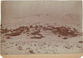Western Expansion:Goldrush, [California Gold Mining] Extremely Rare Randsburg Winter Image1896....