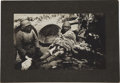 Western Expansion:Goldrush, [California Native Americans] 1904 Gesso - Bodie - Paiute - 106Years Old Photograph....
