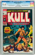 Bronze Age (1970-1979):Miscellaneous, Kull the Conqueror #1 (Marvel, 1971) CGC NM 9.4 White pages....