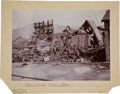 Western Expansion:Goldrush, [California Gold Mining] 1899 Bodie Photograph - Standard MiningCompany Mill, Explosion and Fire....