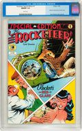 Modern Age (1980-Present):Superhero, The Rocketeer Special Edition #1 (Eclipse, 1984) CGC NM/MT 9.8White pages....