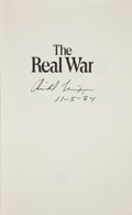 Autographs:U.S. Presidents, Richard Nixon: Signed Book on America's Global Role....