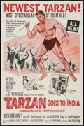 "Movie Posters:Adventure, Tarzan Goes to India & Other (MGM, 1962). One Sheets (2) (27"" X41""). Adventure.. ... (Total: 2 Items)"