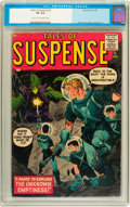Silver Age (1956-1969):Science Fiction, Tales of Suspense #1 (Marvel, 1959) CGC VG 4.0 Light tan tooff-white pages....