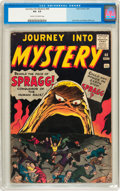 Silver Age (1956-1969):Horror, Journey Into Mystery #68 (Marvel, 1961) CGC VG- 3.5 Cream tooff-white pages....