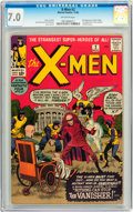 Silver Age (1956-1969):Superhero, X-Men #2 (Marvel, 1963) CGC FN/VF 7.0 Off-white pages....
